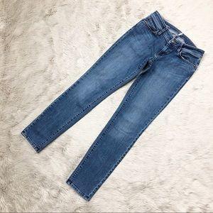 LOFT Ann Taylor Denim Jeans Curvy Skinny Leg